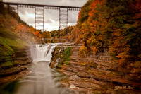 Letchworth Upper Falls & Trestle